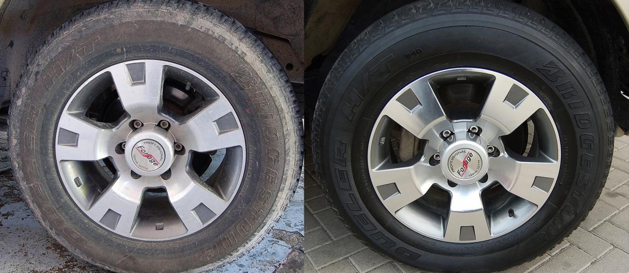 Tire Shine Premium Car Care Products
